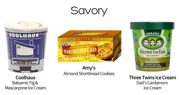 savory ice cream sandwiches