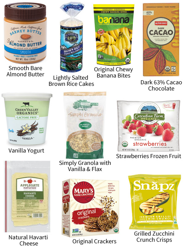 low FODMAP snacks